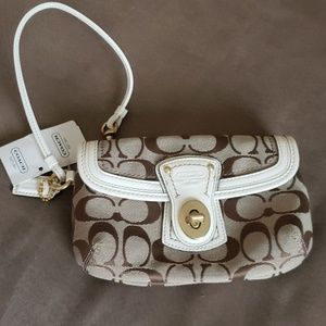 Coach wristlet - new with tags